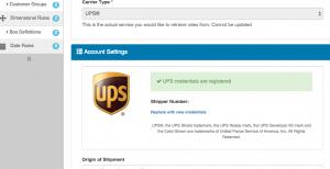 UPS Registration