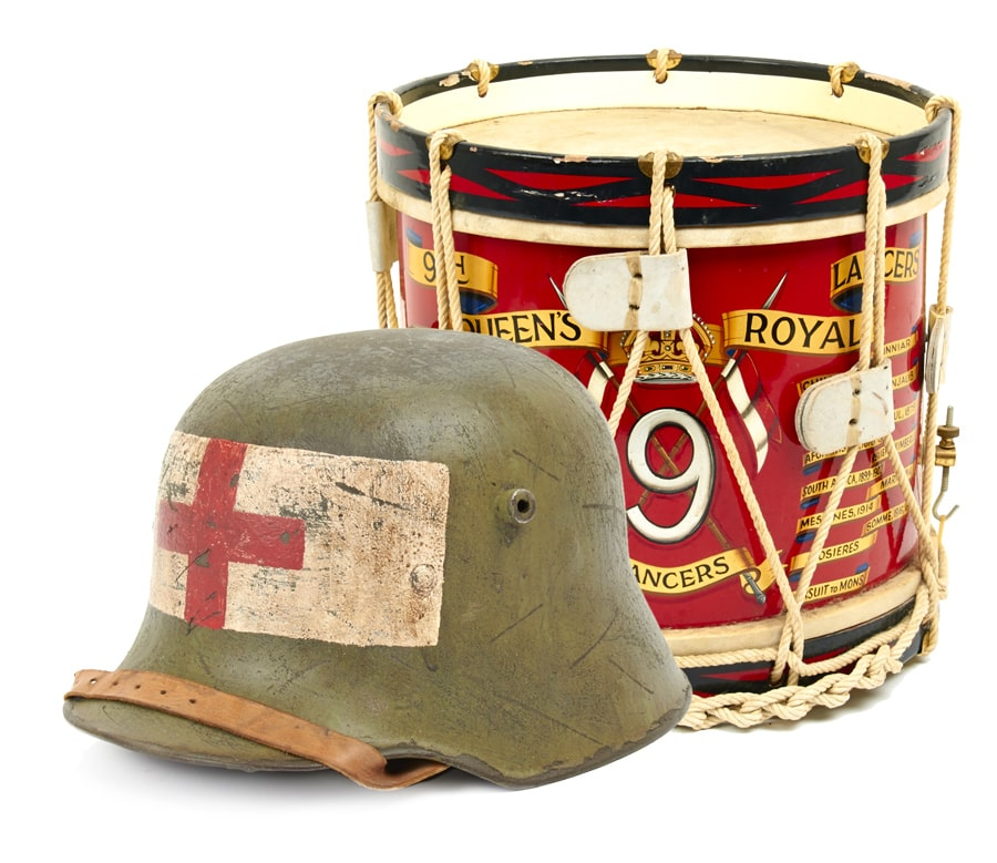 Helmet and Drum