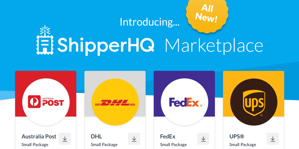 The ShipperHQ Marketplace is a hub for carriers, third-party providers and other shipping providers.