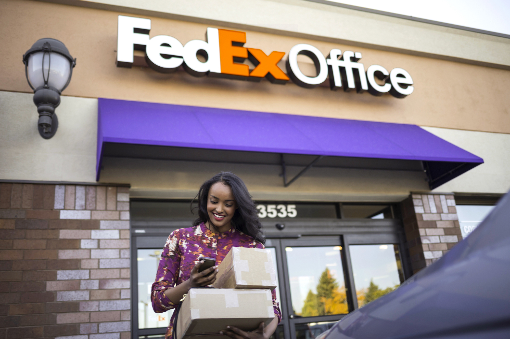 delivery experience with Fedex Hal