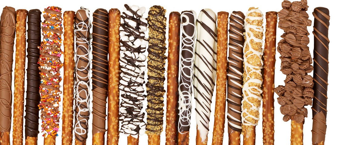 gertrude hawk chocolate covered pretzels