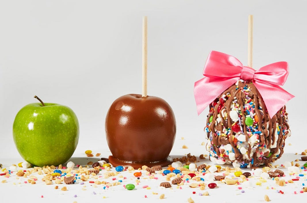 gertrude hawk caramel apples