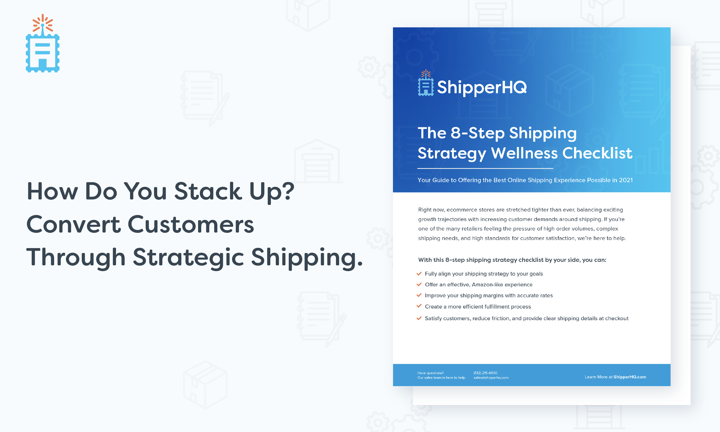 shipping strategy checklist pdf image
