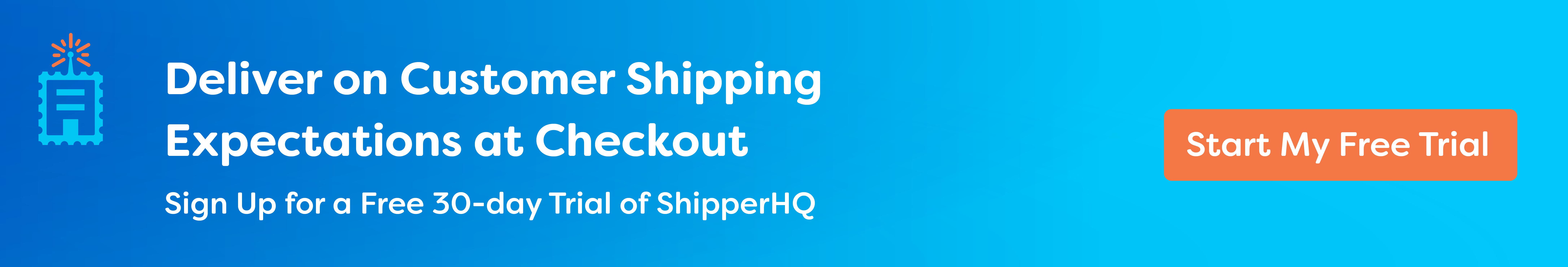 shipperHQ free trial
