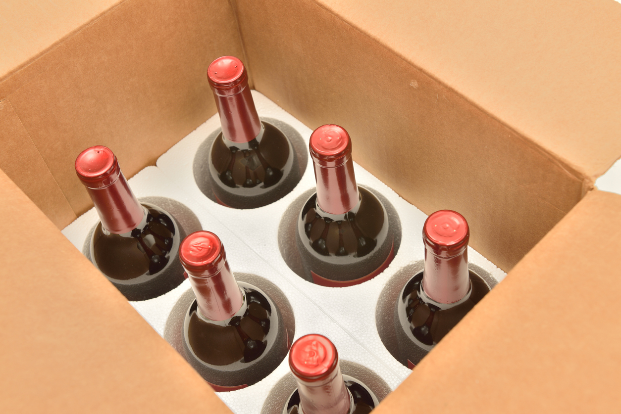 restrictive shipping wine