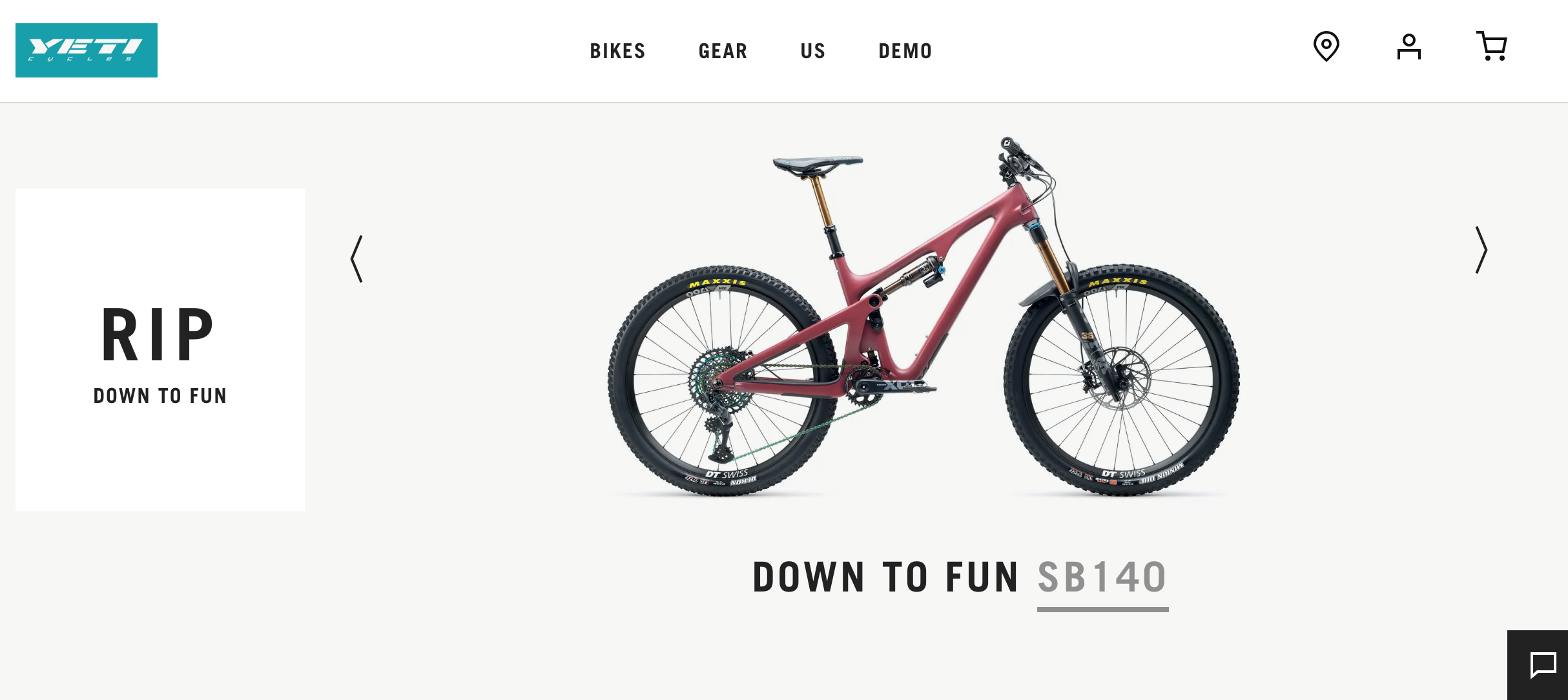 Experiential Commerce - Yeti Cycles